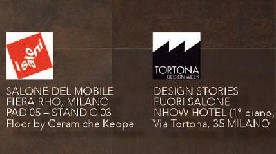 Ceramiche Keope al Salone del Mobile di Milano 2015