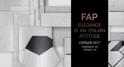 FAP ceramiche на выставке Cersaie 2017