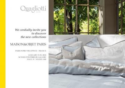 Quagliotti на Maison&Objet в Париже